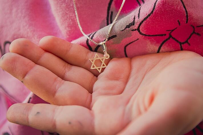 Necklace-With-The-Star-Of-David