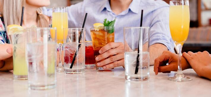 drinks with friends