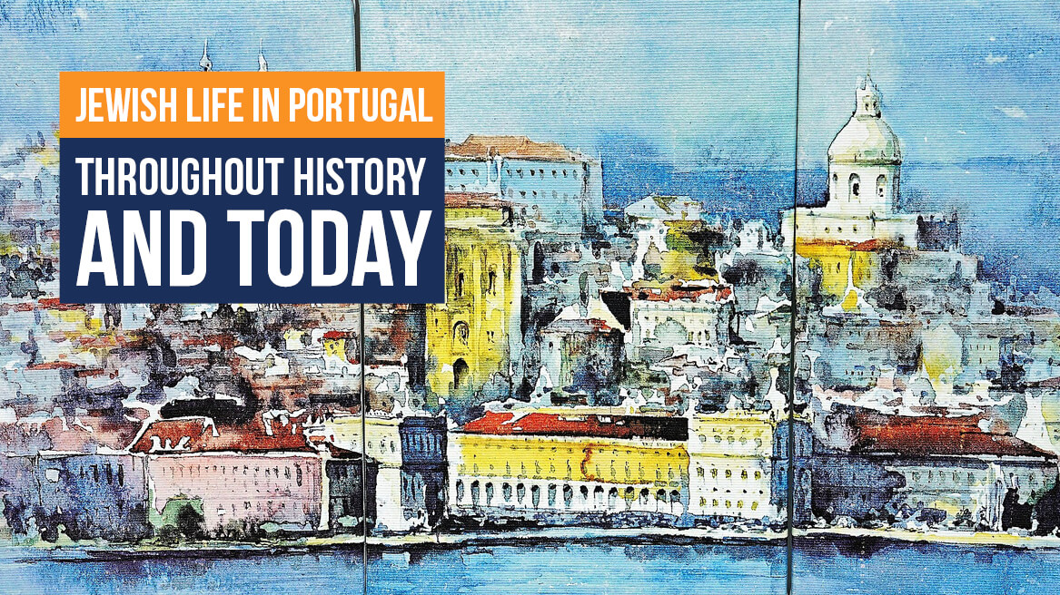 Jewish life in Portugal throughout history and today header