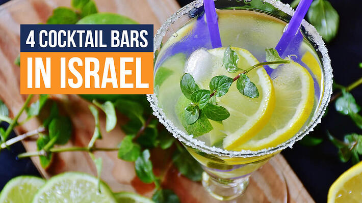 4 Cocktail Bars in Israel header