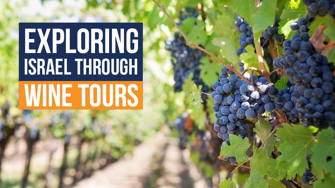 Exploring Israel through wine tours header