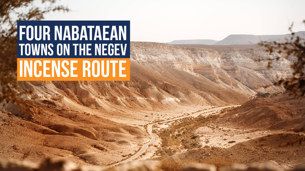 Four Nabataean Towns on the Negev Incense Route