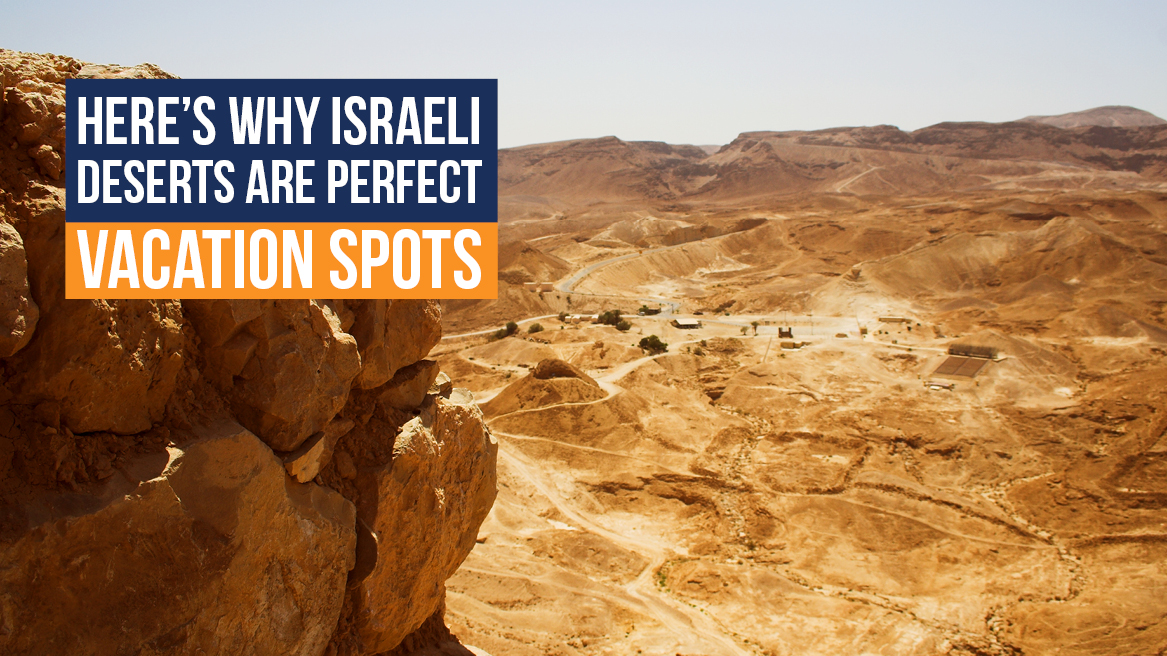 Heres Why Israeli Deserts are Perfect Vacation Spots