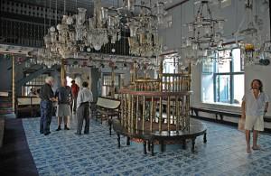 kochi jewish synagogue interior