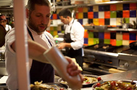 Chef Asaf Granit of Machneyuda (Photo: Tom Lahat)