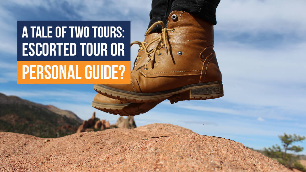 A tale of two tours Escorted tour or personal guide header