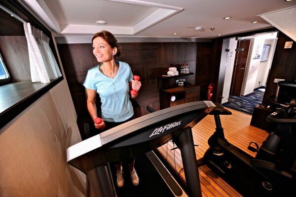 Fitness center- Avalon Waterways