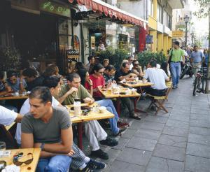 Tel Aviv cafe