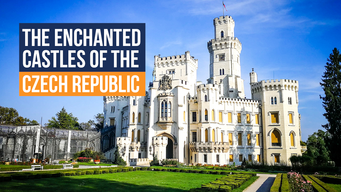 The Enchanted Castles of the Czech Republic header