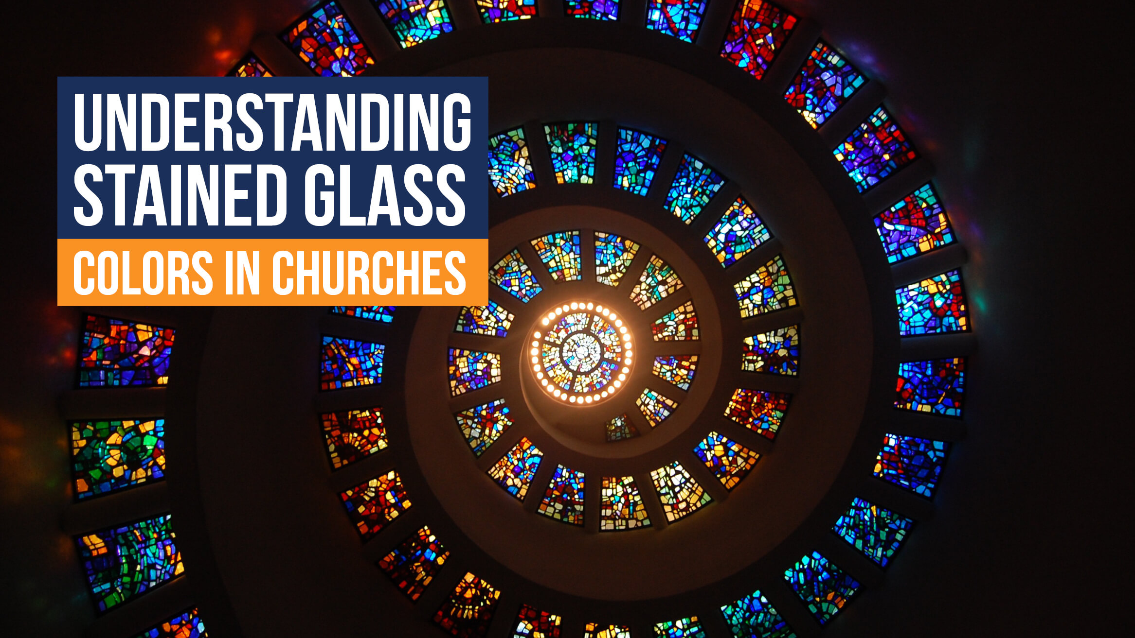 Understanding stained glass colors in churches header