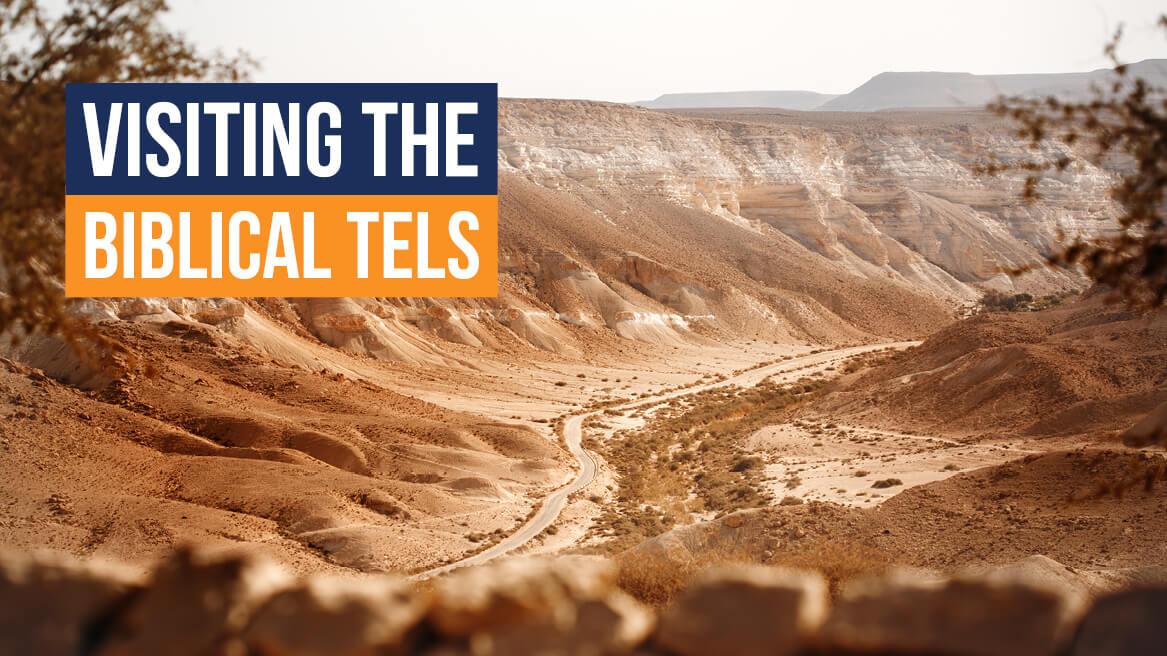 Visiting the Biblical Tels header