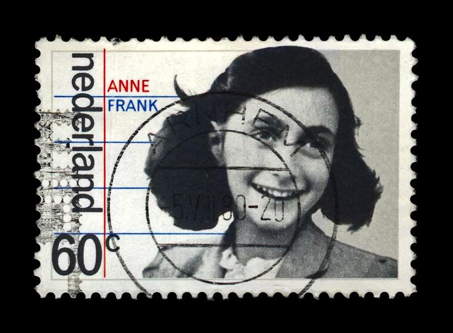 Anne Frank stamp