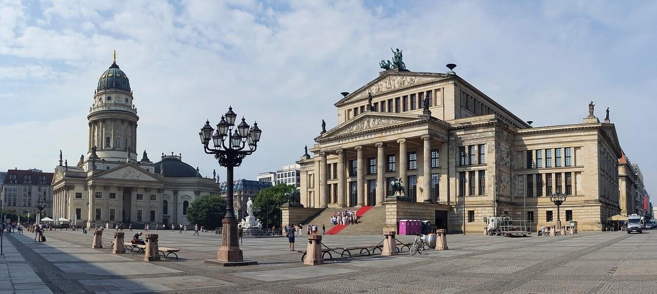 panorama gendarmenmarkt berlin
