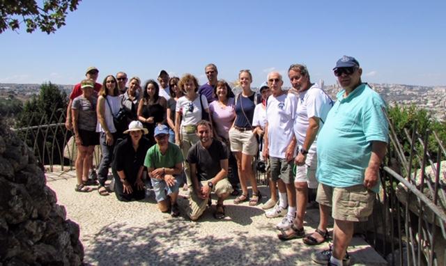 Ramat Rachel Touring Jerusalem, Israel