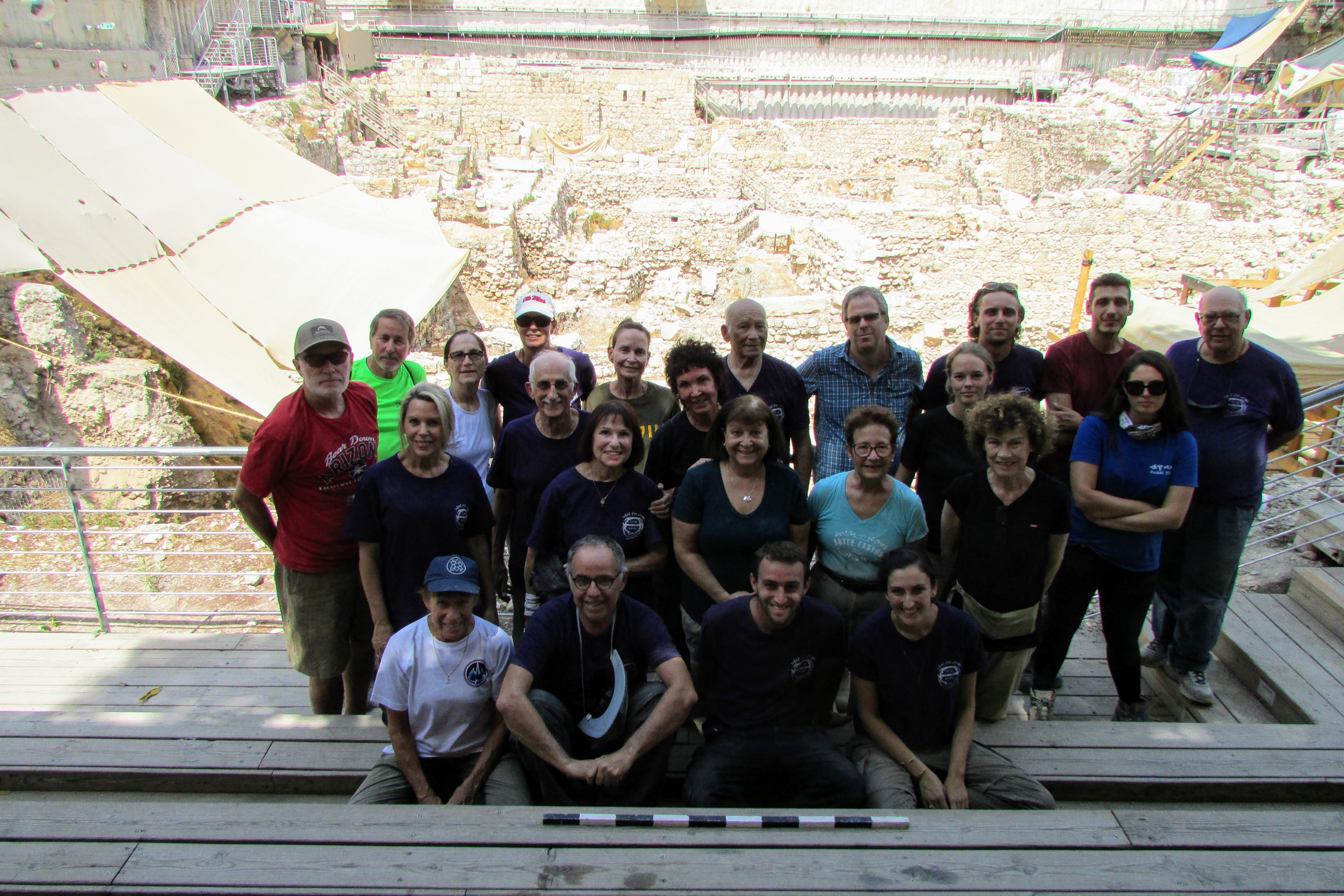 Dig through History with the team at Givati Excavation, Sept 2019